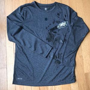 Long Sleeve Dri Tek Philadelphia Eagles Shirt